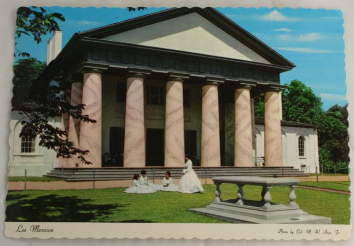 Postcard of Arlington House