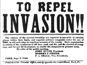 Post image for A Confederate Invasion?