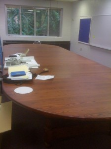 Harkness Style Table
