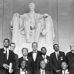 Civil Rights Activists at the Lincoln Memorial
