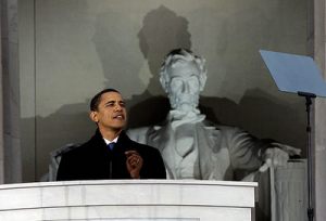 barack+obama+lincoln+memorial