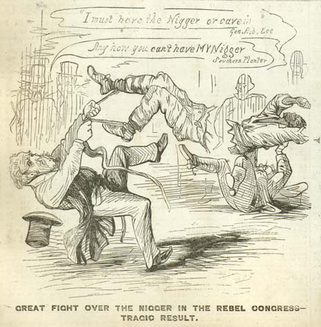 "Post image for ""Great Fight Over the Nigger in the Rebel Congress"""