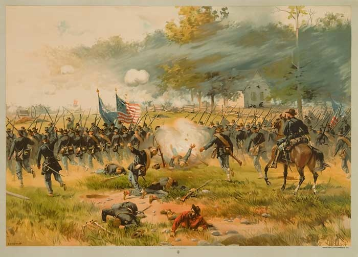 Post image for On Antietam and Hot Coffee