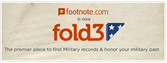 Post image for footnote.com becomes fold3.com