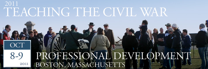 Post image for Civil War Trust Teacher Institute in Boston