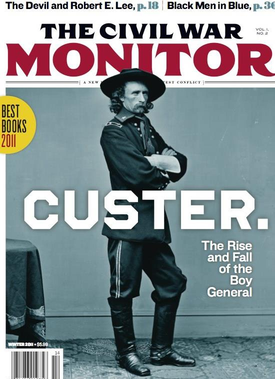Top Civil War Books for 2011 at The Civil War Monitor post image