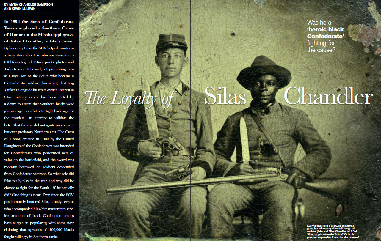 Silas Chandler in Civil War Times post image