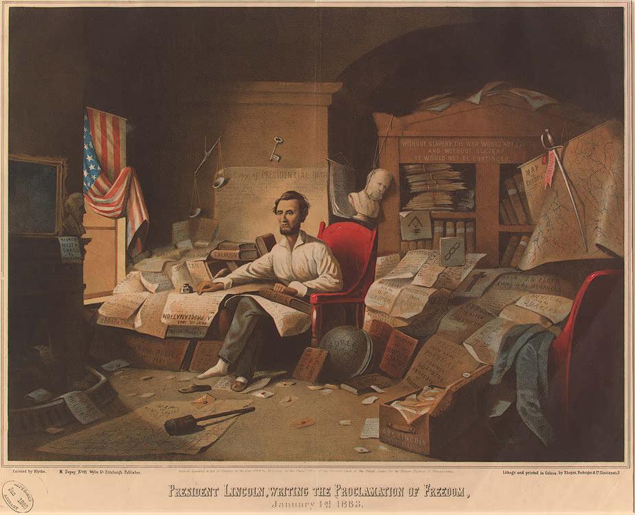 Robert E. Lee on Robert H. Milroy or Emancipation post image