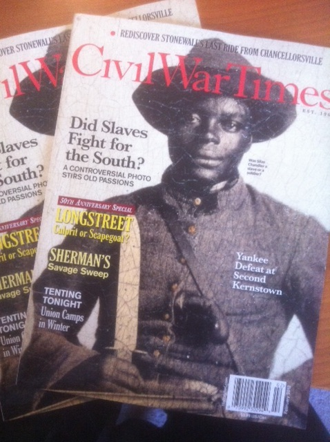 Silas Chandler Makes the Cover of Civil War Times post image