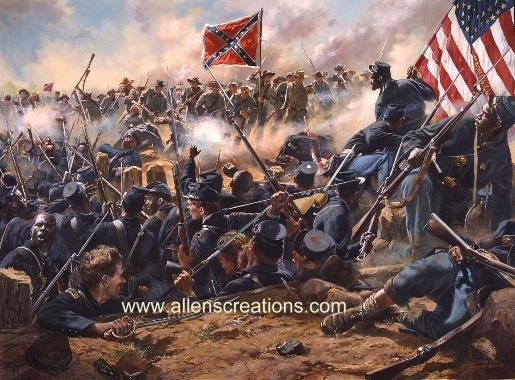Newt Gingrich Pushes For Monument at the Crater Battlefield post image