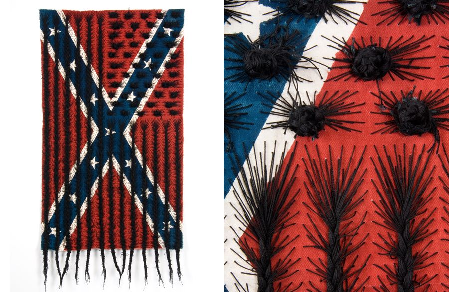 Confederate Black Hair Flag post image