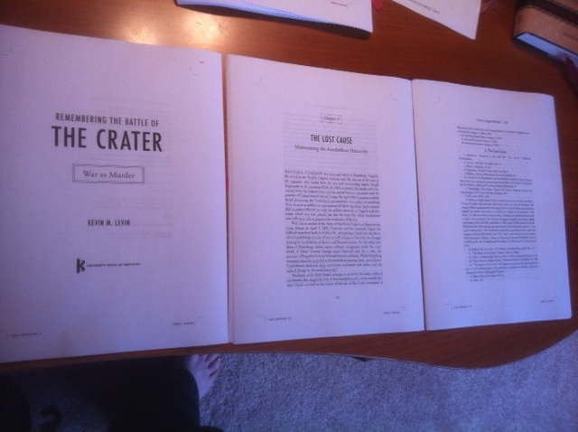 Post image for Crater Page Proofs