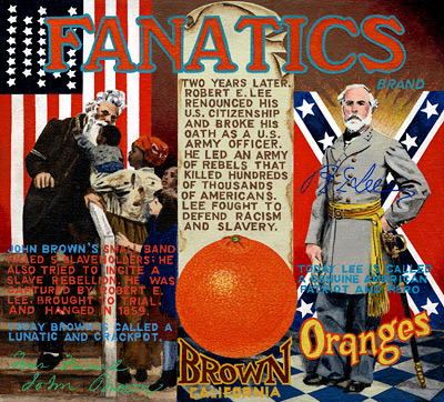 Post image for The Civil War (orange-crate style)