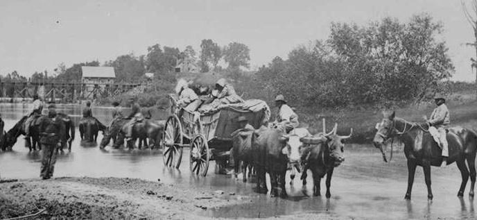 Crossing the Rappahannock post image