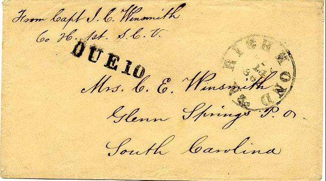Winsmith Letter Cover