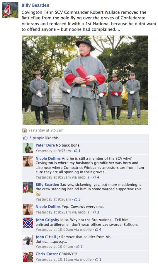 Confederate Heritage Flaggers