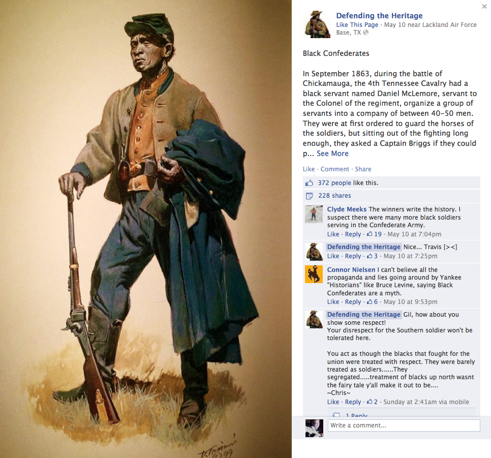 Don Troiani, black Confederate