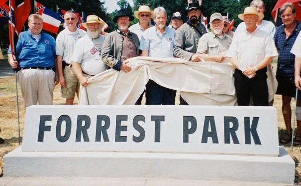 Forrest Park Marker