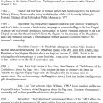W&L Flag Timeline