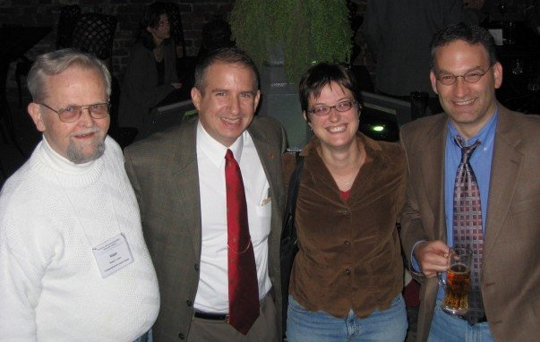 with Ralph Luker, Mark Grimsley, and Rebecca Goetz at the 2007 SHA in Richmond