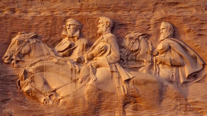Confederate Heritage Has Its Day at Stone Mountain