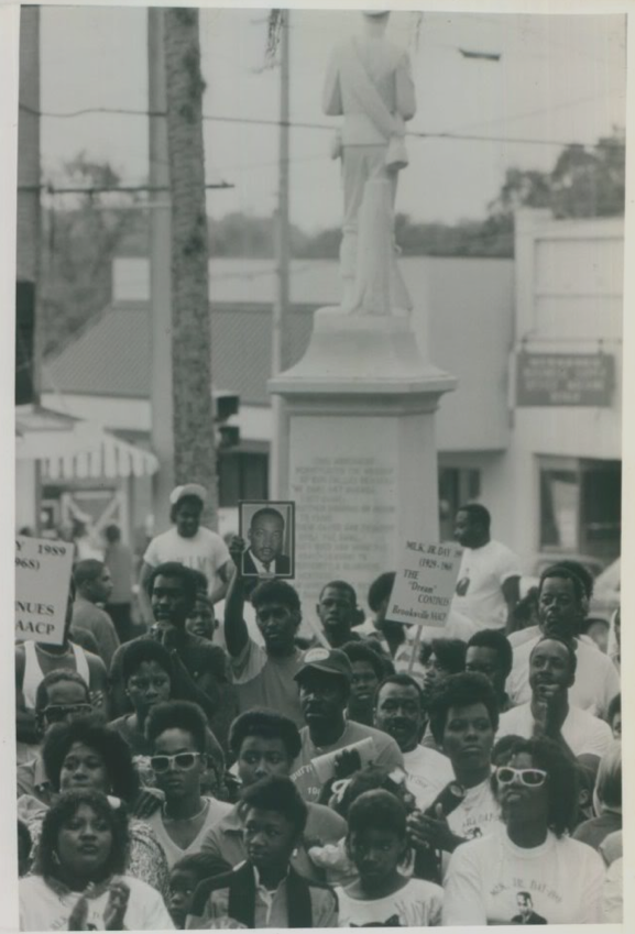 Confederate Monument, Martin Luther King