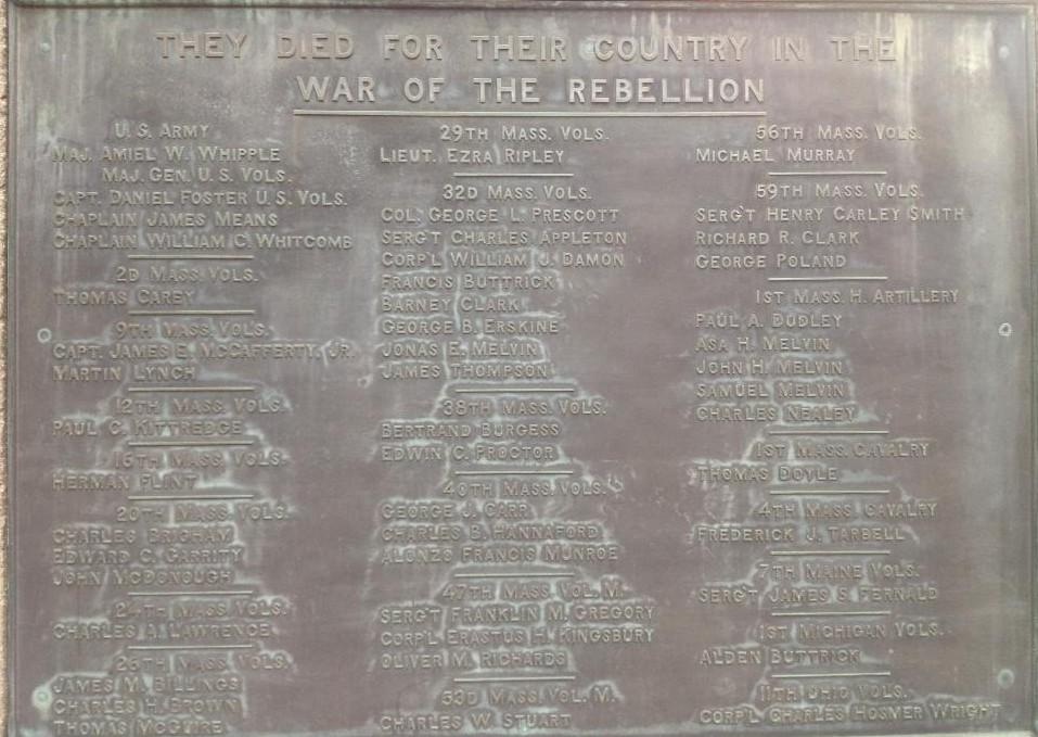 Union Monument in Concord, MA