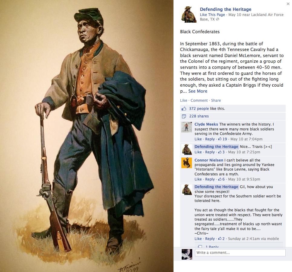 Don Troiani, black Confederate