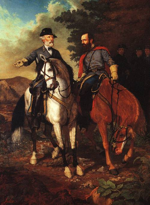 Everett-B-D-Julio_XX_The-Last-Meeting-Of-Lee-And-Jackson-1864_XX_Museum-Of-The-Confederacy-Richmond-Virginia