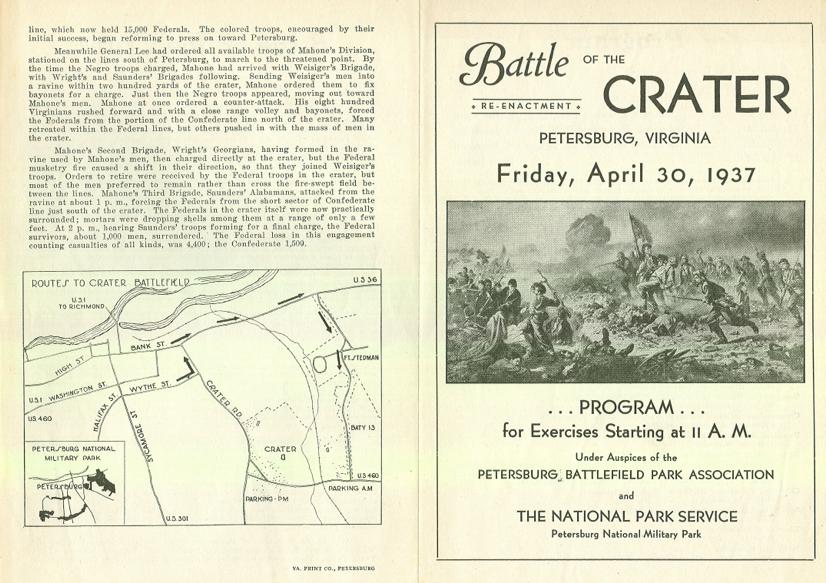 1937 Crater Reenactment