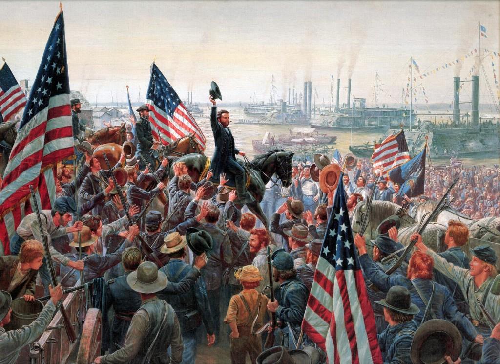 Grant enters Vicksburg, July 4, 1863